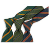 American Regimental Stripe Irish Poplin Tie