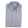 Light Blue Gingham Flannel Sport Shirt