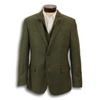 Olive 100% Virgin Italian Wool Zip-In Liner Sport Coat