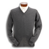 100% Merino Wool V-Neck Sweater
