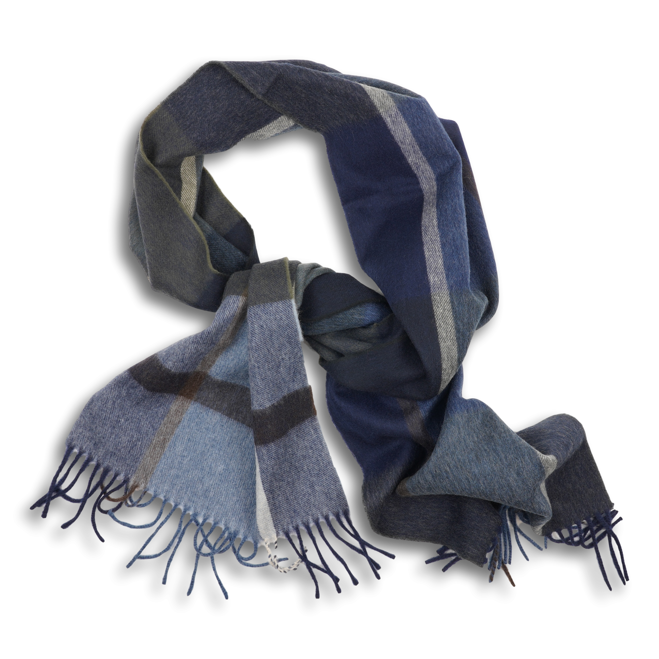Jura Tartan Lambswool and Angora Scarf