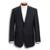Traditional Andover Fit Super 120's Navy Suit Jacket