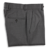 New Andover Fit Super 120's Grey Suit Trousers