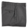 Traditional Andover Fit Super 120's Grey Suit Trousers