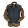 New Navy Waterville Quilted Vest