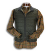 Dark Forest Green Waterville Quilted Vest