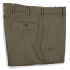 Sand Twill Plain Front Trousers