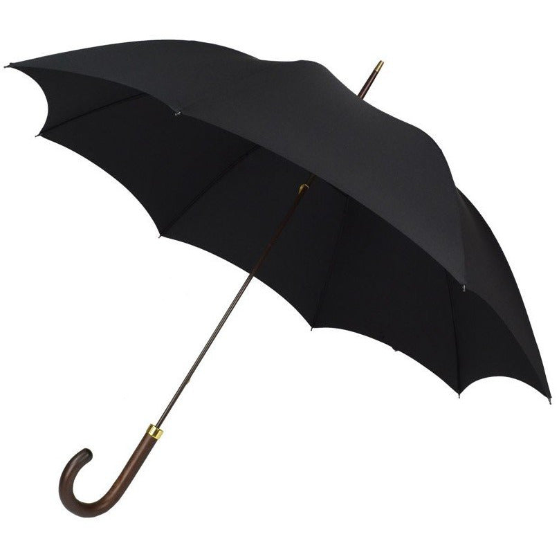 GT1 Polished Hardwood Handle Fox Umbrella