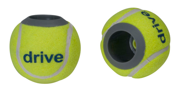 Walker Rear Tennis Ball Glides with Additional Glide Pads, 1 Pair