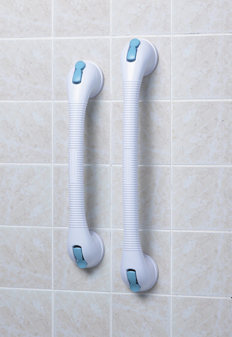 Lifestyle Bathroom Safety Quick Suction Grab Bar Rail, 19.5""