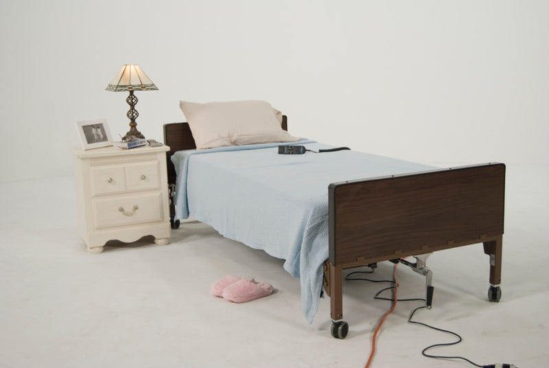 Delta Ultra Light Semi Electric Hospital Bed, Frame Only
