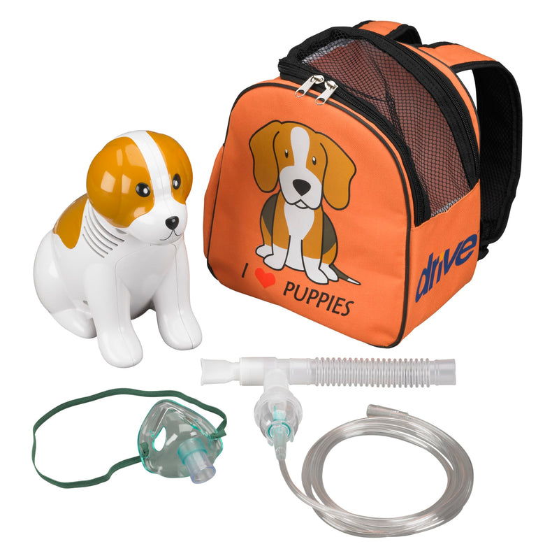 Pediatric Beagle Compressor Nebulizer with Carry Bag and Disposable Neb Kit