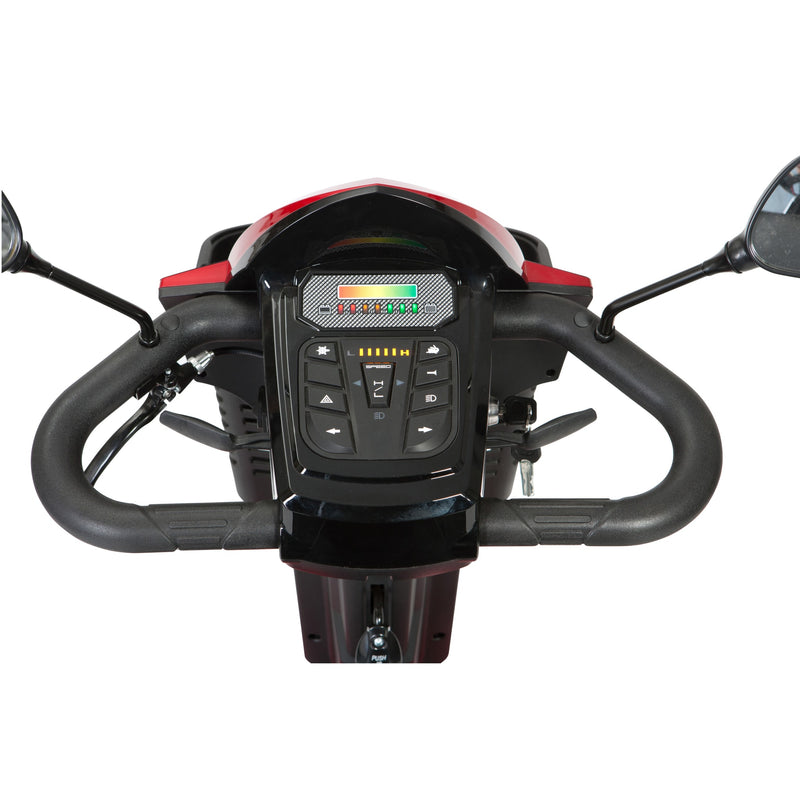 "Panther 4-Wheel Heavy Duty Scooter, 22"" Captain Seat"