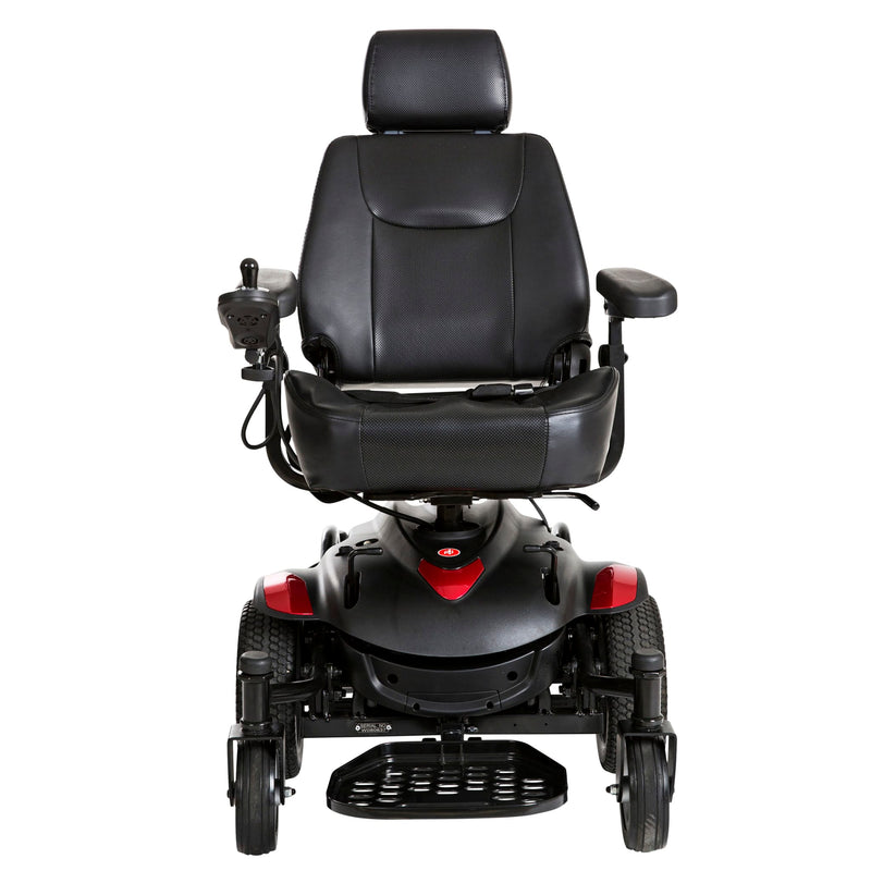 "Titan AXS Mid-Wheel Power Wheelchair, 20""x18"" Captain Seat"