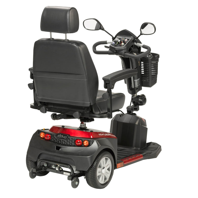 "Ventura Power Mobility Scooter, 3 Wheel, 18"" Captains Seat"
