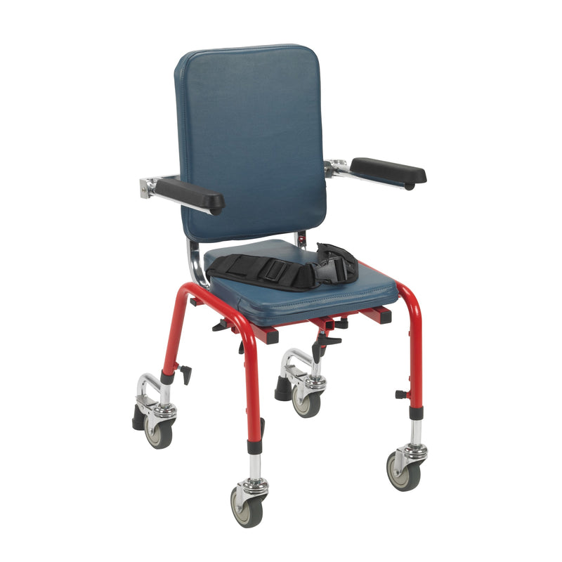 First Class School Chair Legs with Casters, Large, Pack of 4
