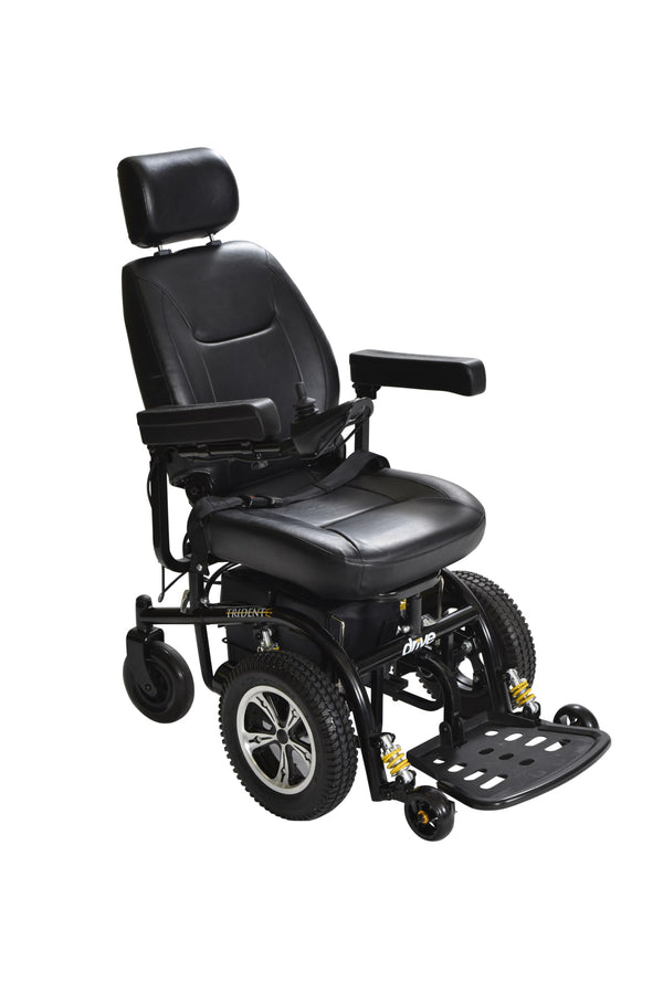 "Trident Front Wheel Drive Power Wheelchair, 18"" Seat"