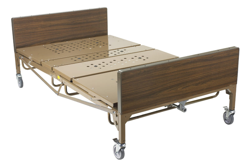Full Electric Heavy Duty Bariatric Hospital Bed, with 1 Set of T Rails