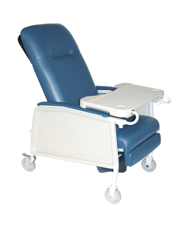 3 Position Heavy Duty Bariatric Geri Chair Recliner, Blue Ridge