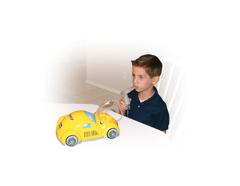 Piston Powered Checker Nebulizer, Yellow