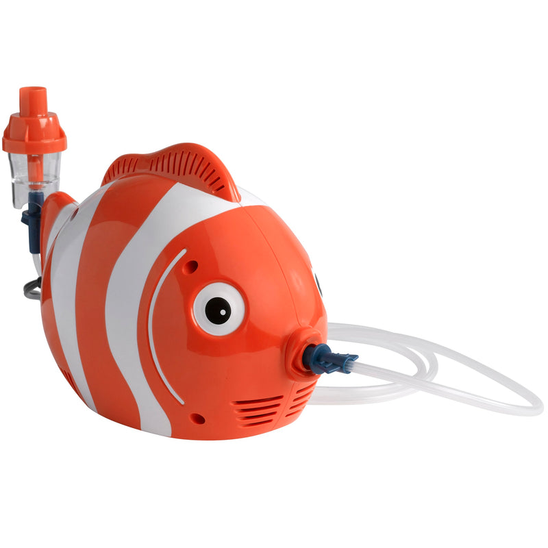 Pediatric Fish Compressor Nebulizer with Disposable Neb Kit
