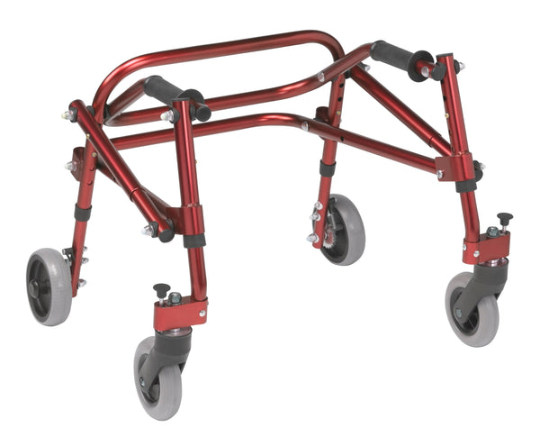 Nimbo 2G Lightweight Posterior Walker, Extra Small, Castle Red