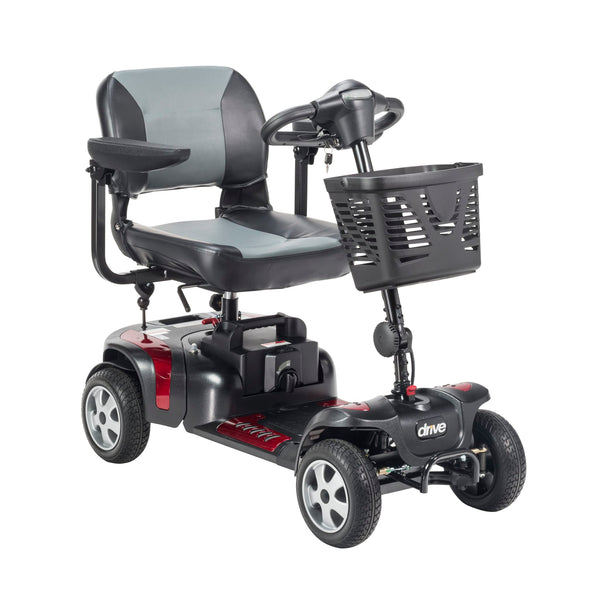 "Phoenix Heavy Duty Power Scooter, 4 Wheel, 20"" Seat"