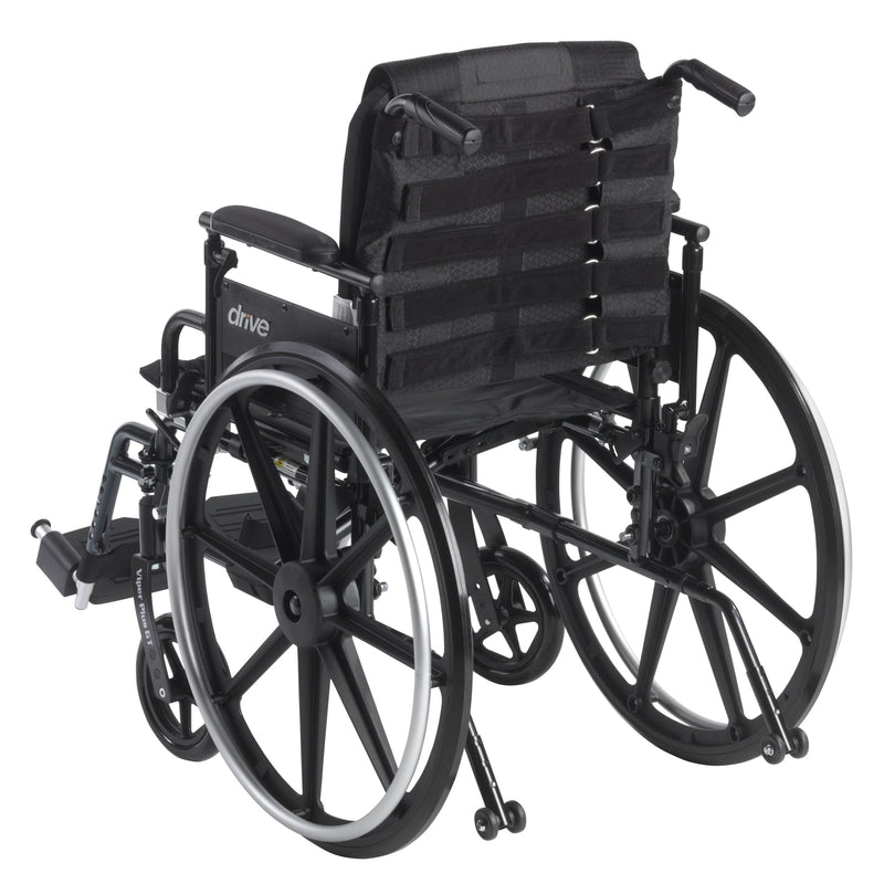 "Adjustable Tension Back Cushion for 16""-21"" Wheelchairs"