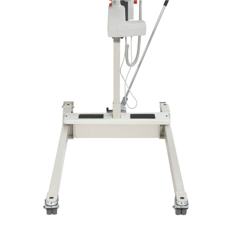Bariatric Battery Powered Electric Patient Lift with Four Point Cradle and Rechargeable, Removable Battery, No Wall Mount