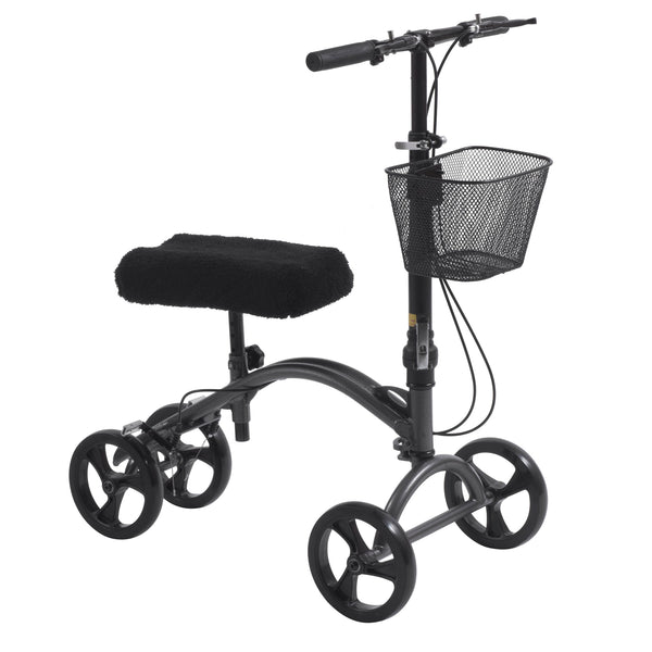 DV8 Aluminum Steerable Knee Walker Knee Scooter Crutch Alternative
