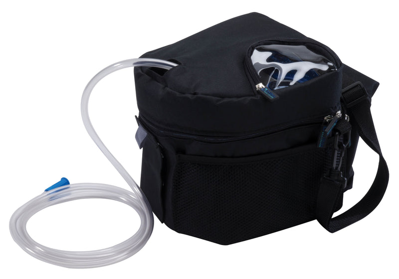 Vacu-Aide QSU Quiet Suction Unit with External Filter, Battery, and Carrying Case
