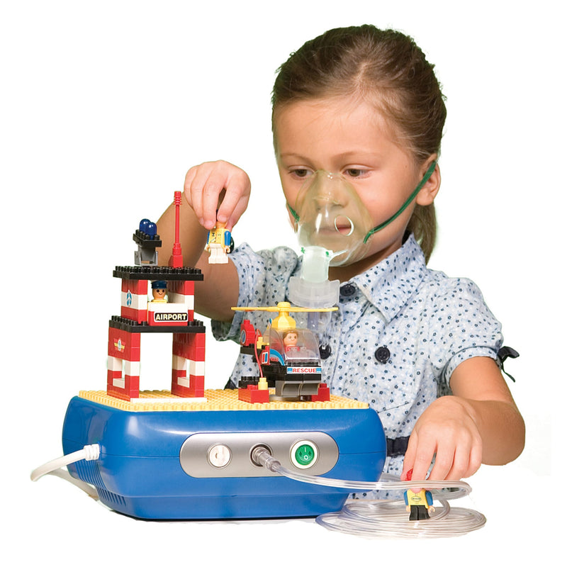 Interactive Building Block Compressor Nebulizer, Townhouse