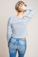At Your Best Lightweight Sweater in Grey