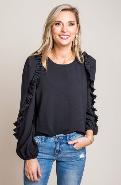 Don't Deny Our Love Top in Black