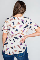 Aimee Abstract Top