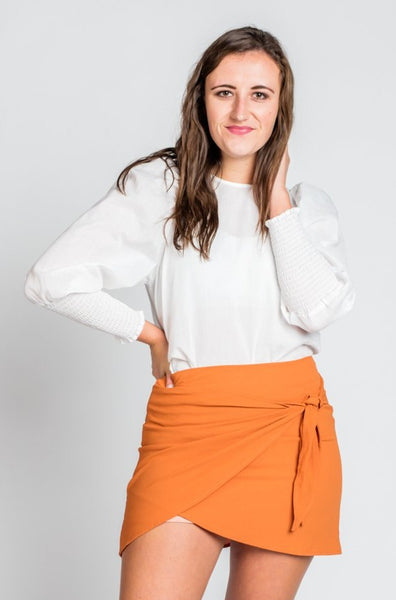 Lilly Skirt in Rust