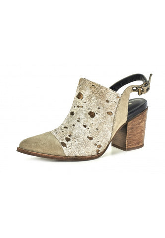 Anita in Taupe Suede by Chocolat Blu