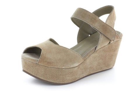 Warford in Taupe Suede by Chocolat Blu