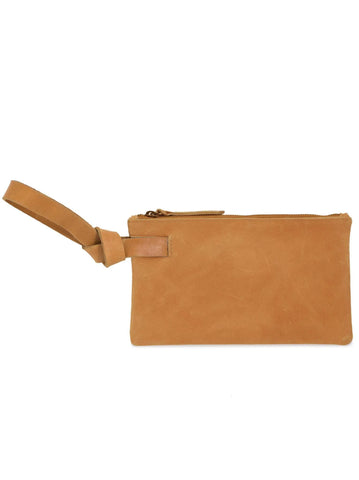 Rachel Wristlet in Cognac by Able