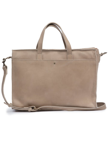 Elsabet Work Tote in Fog by ABLE