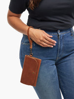 Mare Phone Wallet in Whiskey by ABLE