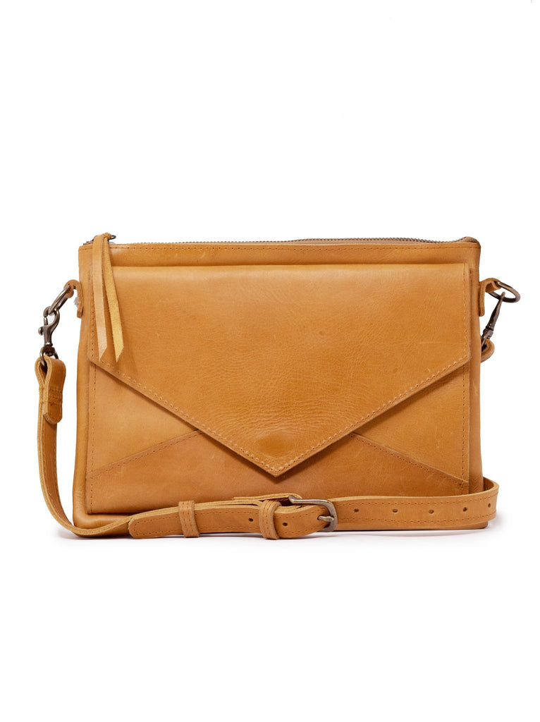 Solome Crossbody in Cognac by ABLE
