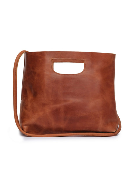 Hana Handbag in Whiskey by ABLE