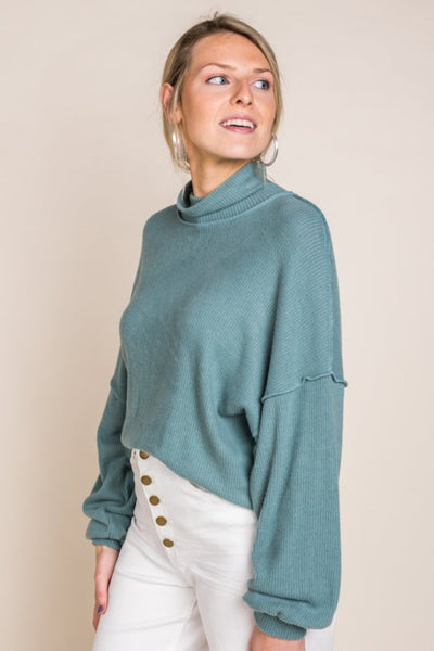 Cadie Seafoam Sweater