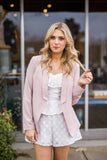 Lightweight Blush Blazer