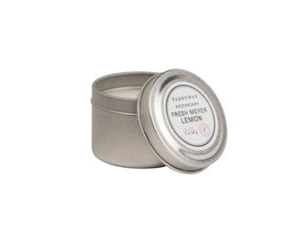 Paddywax Fresh Meyer Lemon Mini Tin Candle