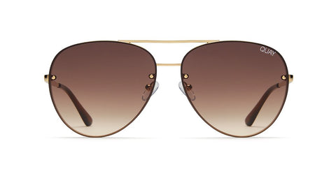 Cool Innit in Gold/Brown by Quay Australia