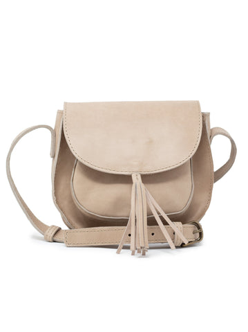 Maria Tassel Crossbody in Fog by ABLE