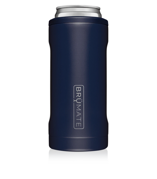 BruMate: Hopsulator Slim: Matte Navy (12OZ Slim Cans)