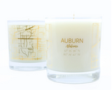 Auburn Map Candle by Oliver Henry Candle Co.
